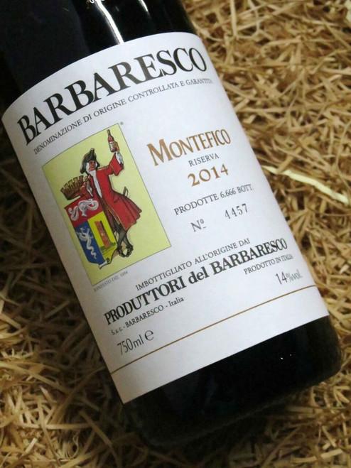 Produttori del Barbaresco Montefico Riserva 2014