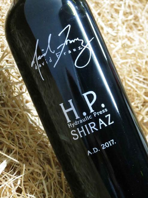 [SOLD-OUT] David Franz HP Shiraz 2017