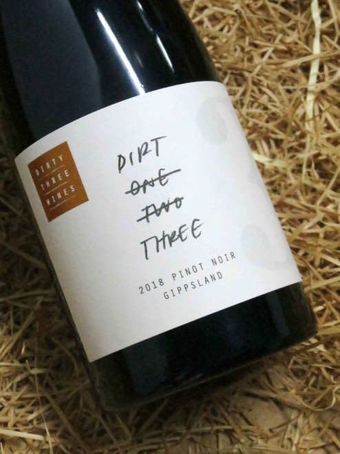 [SOLD-OUT] Dirty Three Wines 'Dirt 3' Pinot Noir 2018