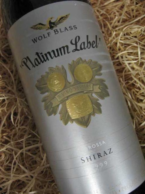 [SOLD-OUT] Wolf Blass Platinum Label Shiraz 1999