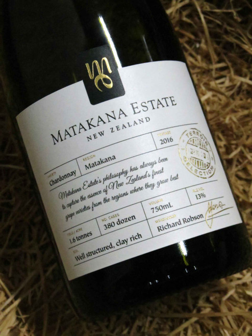 [SOLD-OUT] Matakana Estate Chardonnay 2016