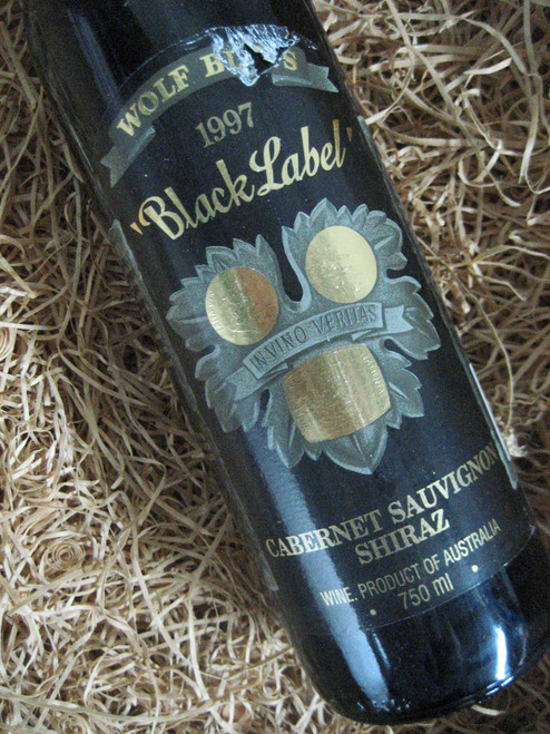 [SOLD-OUT] Wolf Blass Black Label 1997 (Damaged Label)