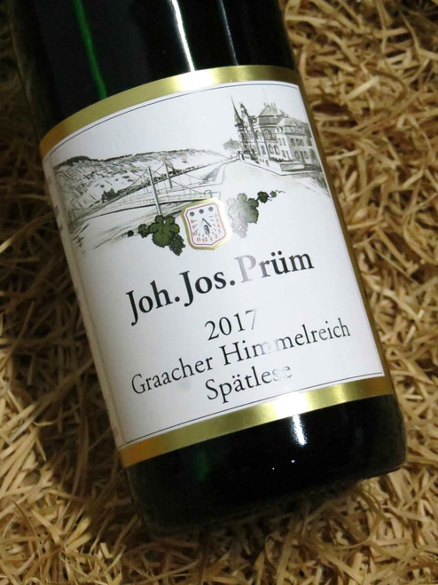 [SOLD-OUT] JJ Prum Graacher Himmelreich Riesling Spatlese 2017