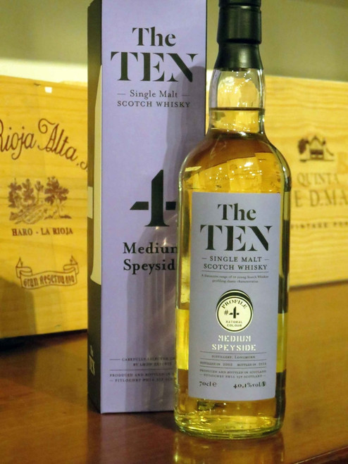 [SOLD-OUT] The Ten #4 Medium Speyside Single Malt 2002