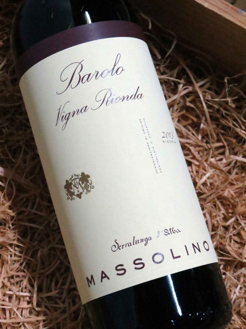 [SOLD-OUT] Massolino Barolo Vigna Rionda 2013