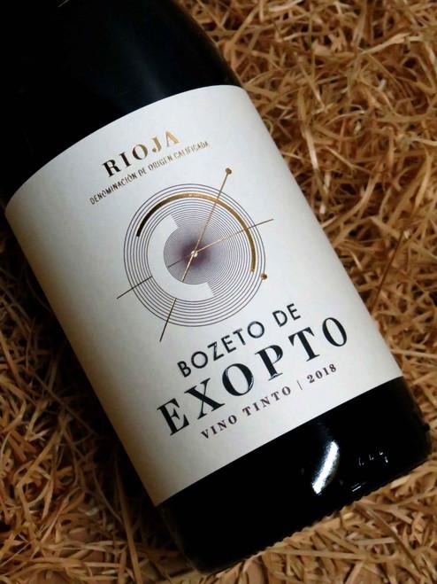 Bozeto de Exopto Rioja 2018