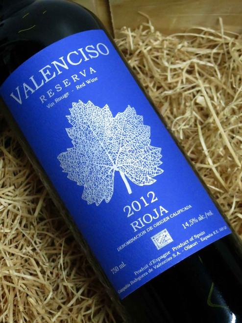 Valencisco Rioja Reserva 2012