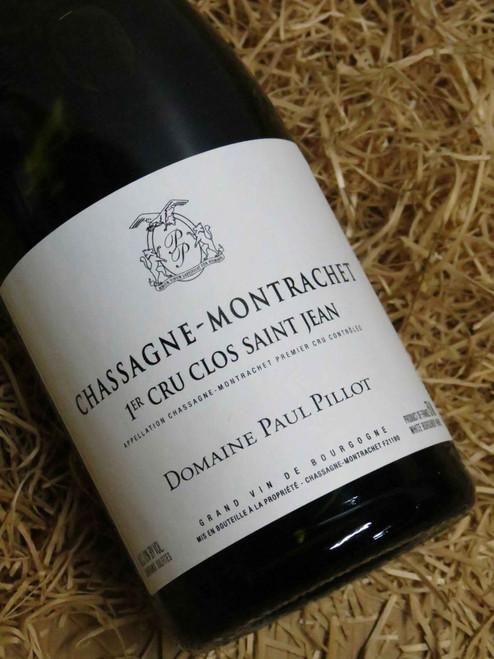 Paul Pillot Chassagne Montrachet Premier Cru Clos St-Jean 2017