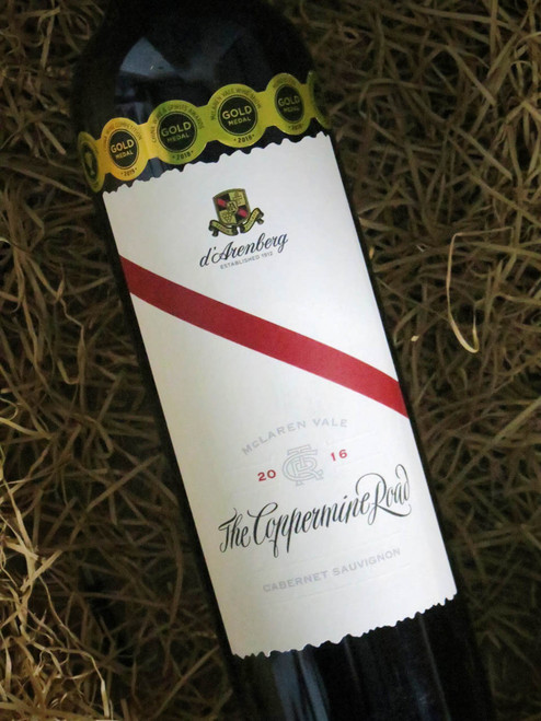 d'Arenberg Coppermine Road Cabernet Sauvignon 2016