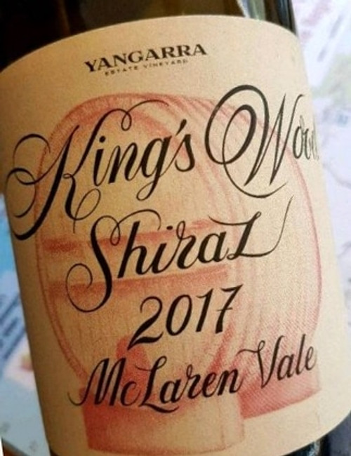 [SOLD-OUT] Yangarra Kings Wood Shiraz 2017