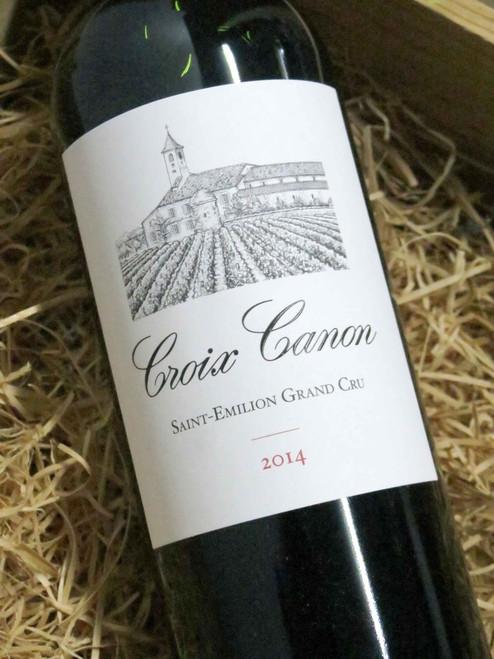 Croix Canon St Emilion Grand Cru 2014 375mL-Half-Bottle