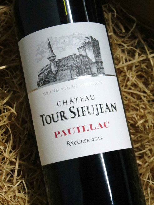 [SOLD-OUT] Chateau Tour-Sieujean Pauillac 2012