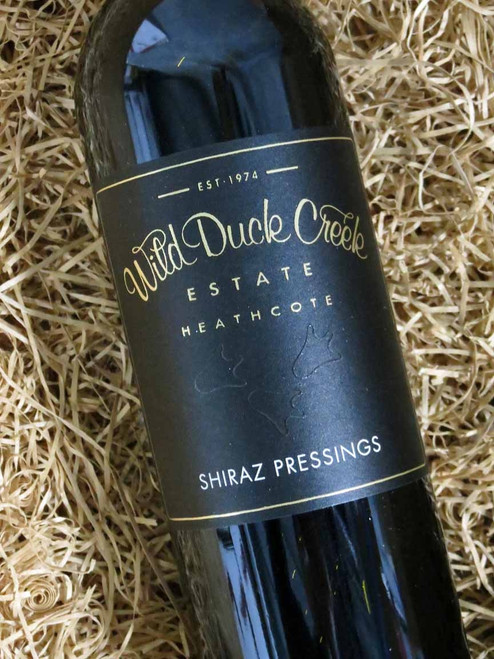 Wild Duck Creek Pressings Shiraz 2017