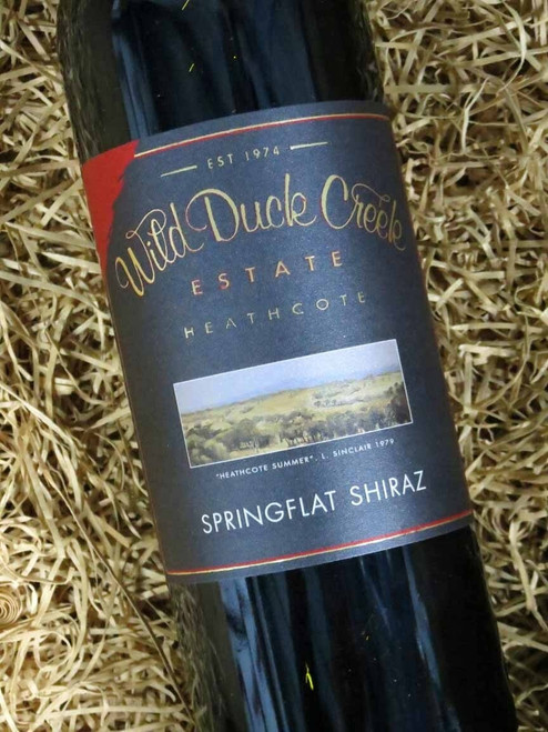[SOLD-OUT] Wild Duck Creek Springflat Shiraz 2017