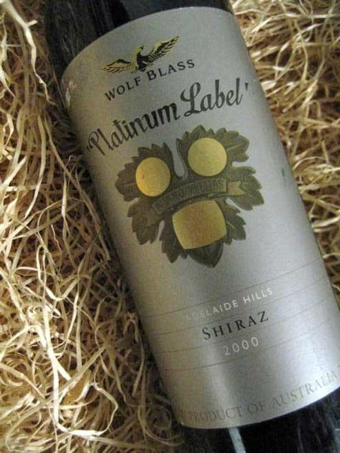 [SOLD-OUT] Wolf Blass Platinum Label Shiraz 2000