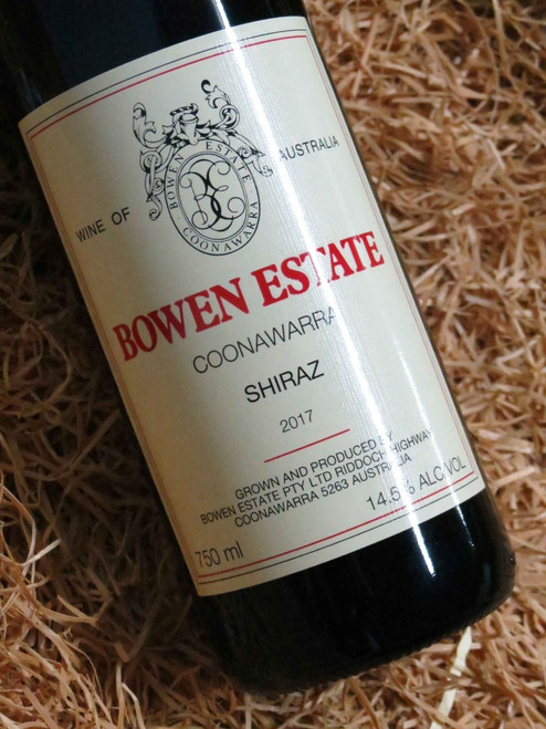 Bowen Estate Shiraz 2017