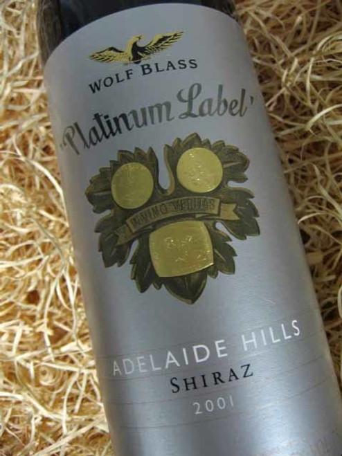 Wolf Blass Platinum Label Shiraz 2001