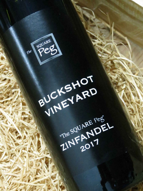 Buckshot The Square Peg Zinfandel 2017