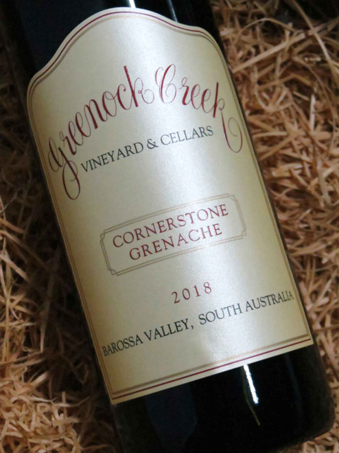 Greenock Creek Cornerstone Grenache 2018