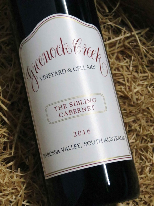 [SOLD-OUT] Greenock Creek The Sibling Cabernet Sauvignon 2016