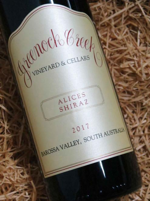 Greenock Creek Alices Shiraz 2017