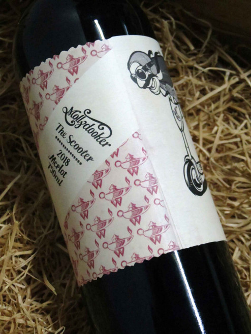 [SOLD-OUT] Mollydooker The Scooter Merlot 2018