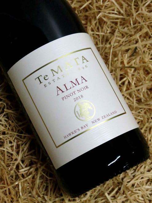 [SOLD-OUT] Te Mata Alma Pinot Noir 2018