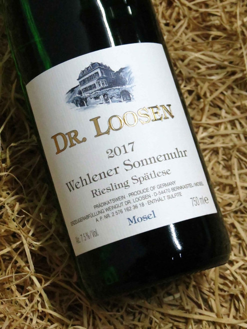 [SOLD-OUT] Dr Loosen Wehlener Sonnenuhr Riesling Spatlese 2017