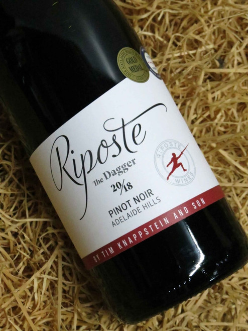 [SOLD-OUT] Riposte by Tim Knappstein The Dagger Pinot Noir 2018
