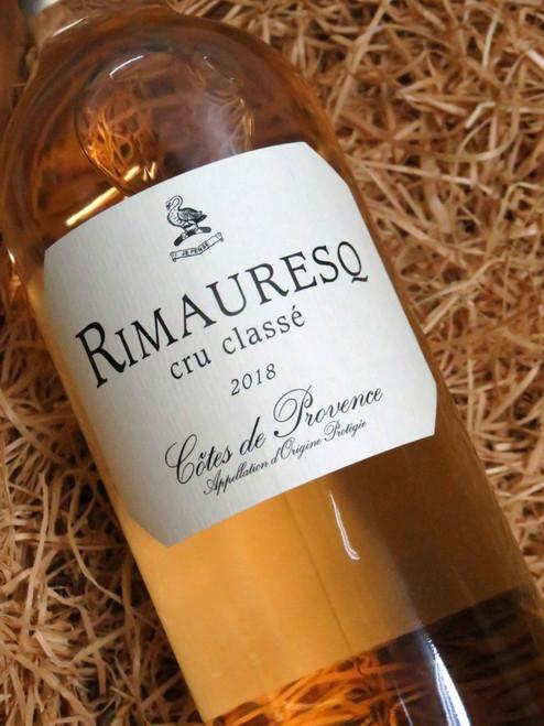 [SOLD-OUT] Rimauresq Cotes de Provence Rose 2018