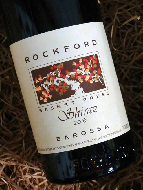 [SOLD-OUT] Rockford Basket Press Shiraz 2016