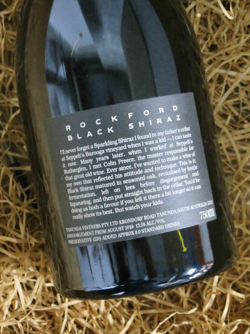 [SOLD-OUT] Rockford Sparkling Black Shiraz N.V. Disgorged 2019