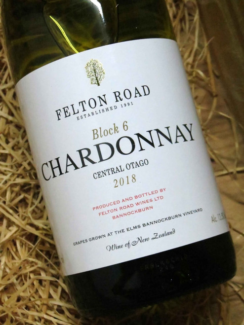 [SOLD-OUT] Felton Road Block 6 Chardonnay 2018