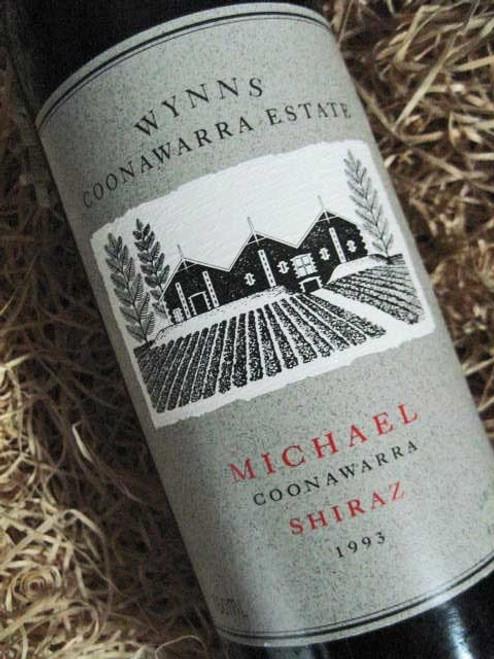 Wynns Michael Shiraz 1993