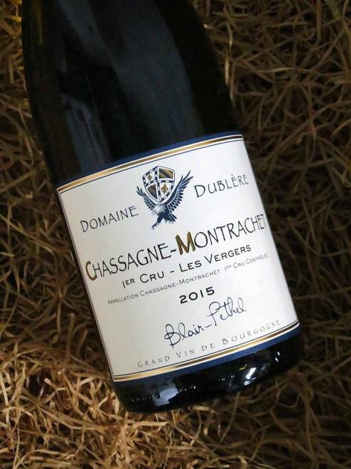 Domaine Dublere Chassagne Montrachet Les Vergers 2015