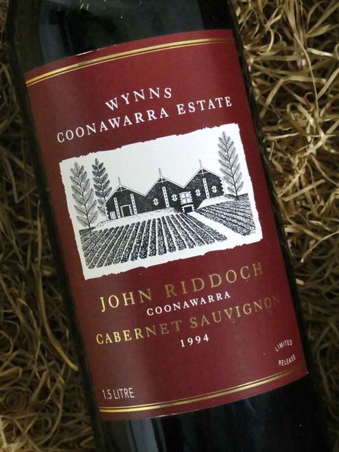 [SOLD-OUT] Wynns John Riddoch Cabernet Sauvignon 1994 1500mL-Magnum