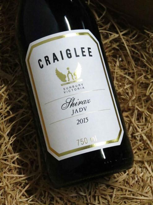 [SOLD-OUT] Craiglee Shiraz 'JADV' 2015