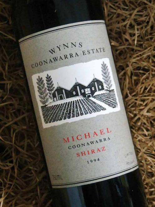 [SOLD-OUT] Wynns Michael Shiraz 1994 (Minor Damaged Label)