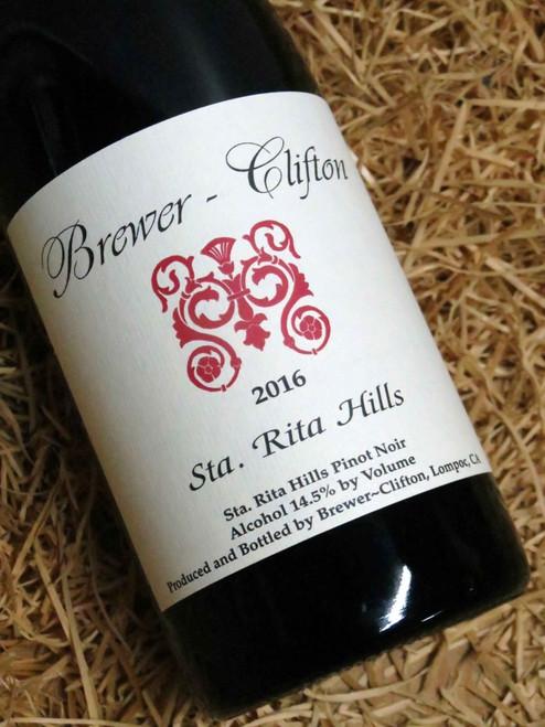Brewer-Clifton Santa Rita Hills Pinot Noir 2016