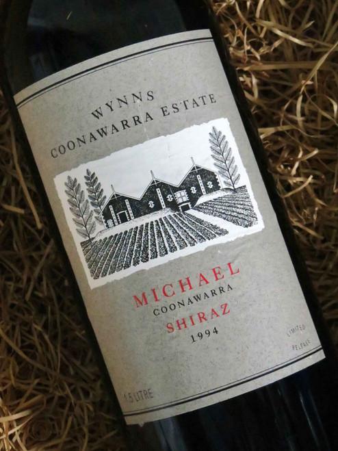 [SOLD-OUT] Wynns Michael Shiraz 1994 1500mL-Magnum