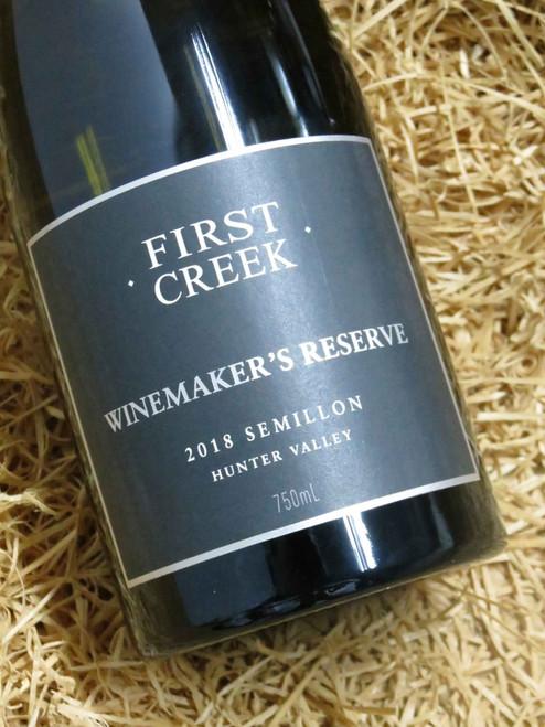 First Creek Reserve Semillon 2018
