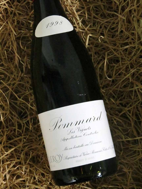 [SOLD-OUT] Leroy Pommard Les Vignots 1998