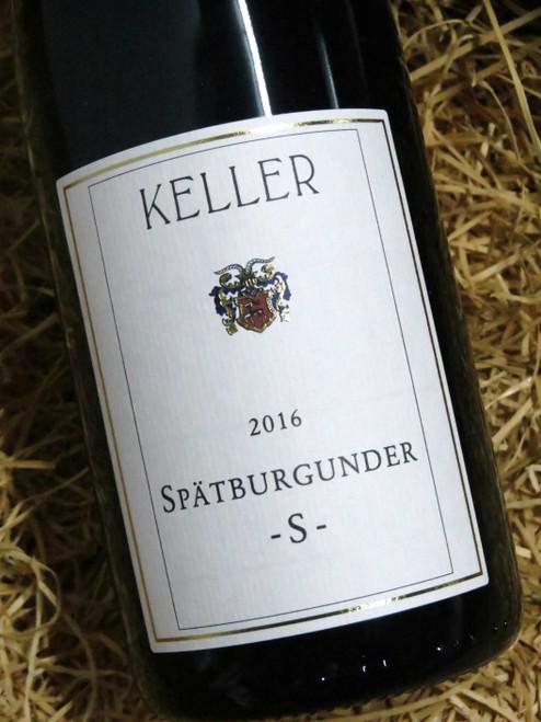[SOLD-OUT] Keller Spatburgunder Trocken S 2016