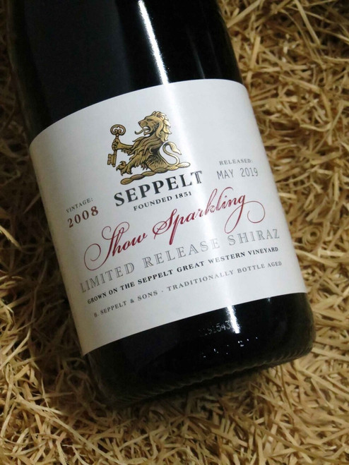 [SOLD-OUT] Seppelt Show Sparkling Limited Release Shiraz 2008