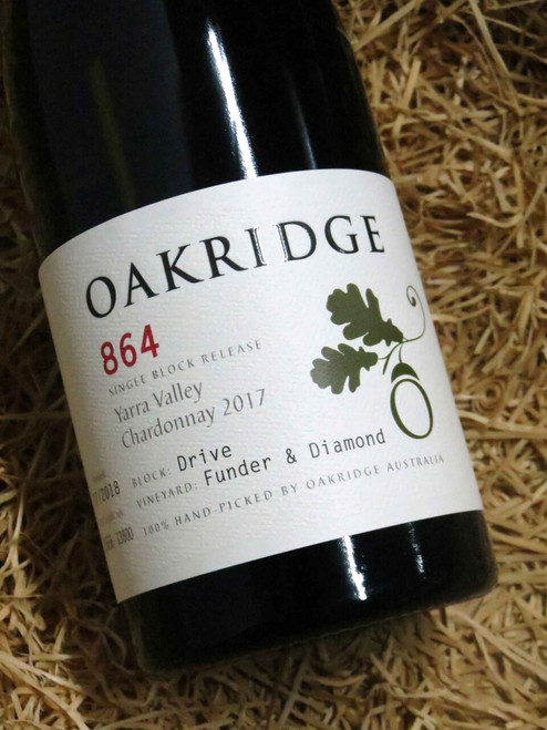 [SOLD-OUT] Oakridge 864 Chardonnay 2017