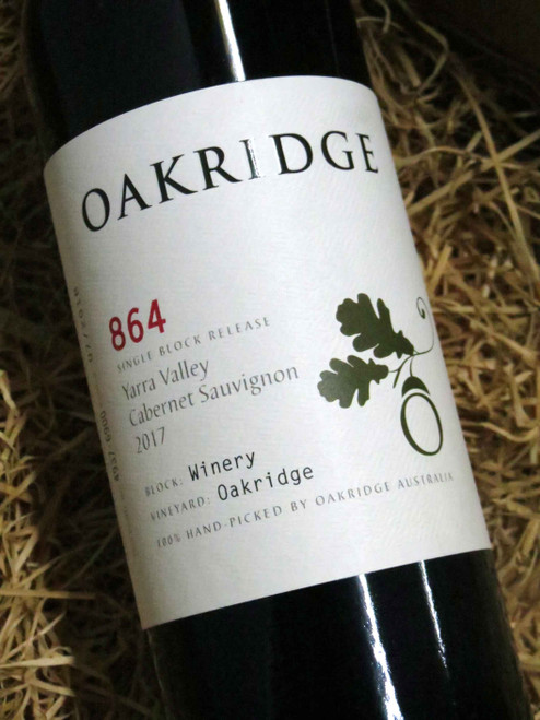 Oakridge 864 Cabernet Sauvignon 2017