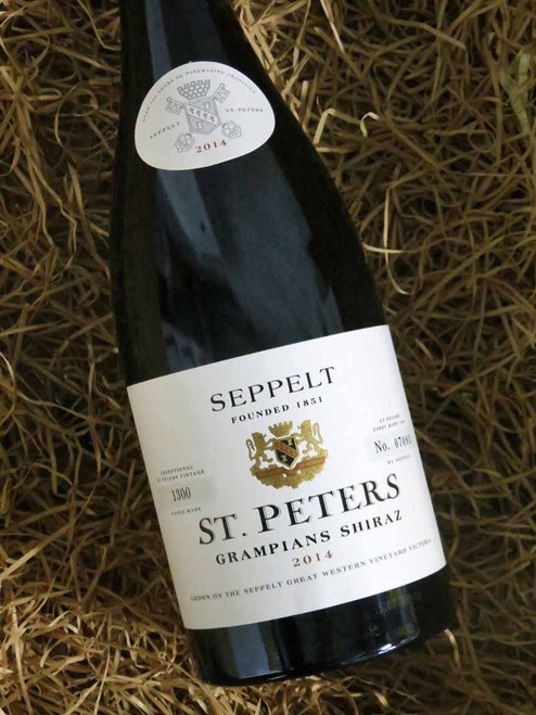 [SOLD-OUT] Seppelt St Peters Shiraz 2014