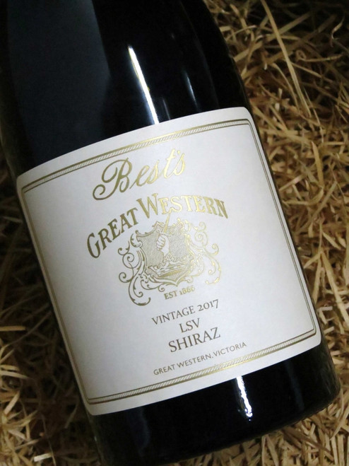 [SOLD-OUT] Best's Great Western LSV Shiraz 2017