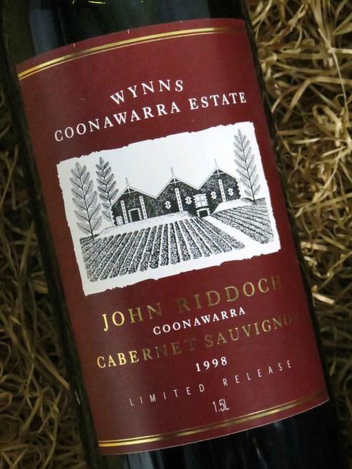 [SOLD-OUT] Wynns John Riddoch Cabernet Sauvignon 1998 1500mL-Magnum