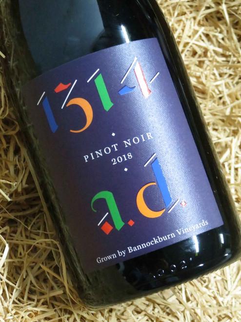 Bannockburn 1314 AD Pinot Noir 2018
